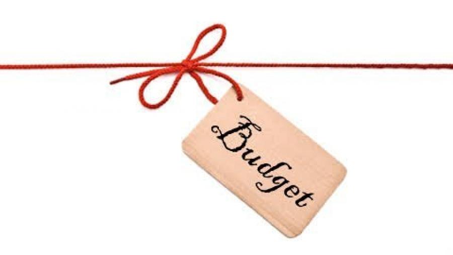 Blogging budget